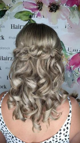 Wedding Upstyle Hair Salon Regents Park Hairz Rock