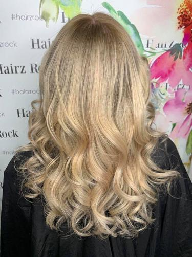 blonde specialists Hairdressers Regents Park Hairz Rock